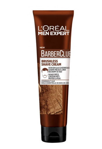L'Oréal Paris Men Expert Me Barber CLUB Shave Creme 150 ml
