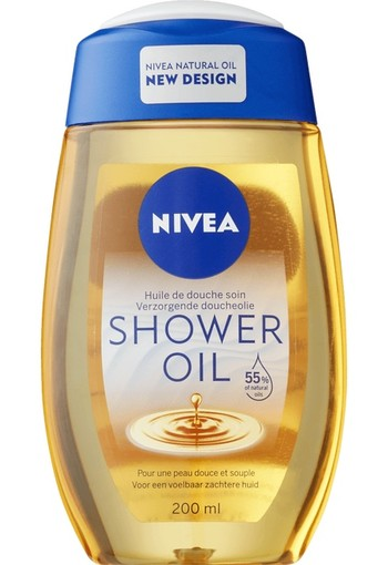 Nivea Douche olie natural 200 ml