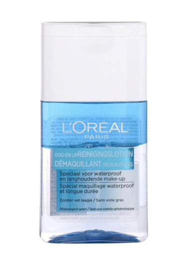 Loreal Express oogmake-up en lipstick remover (125 ml)