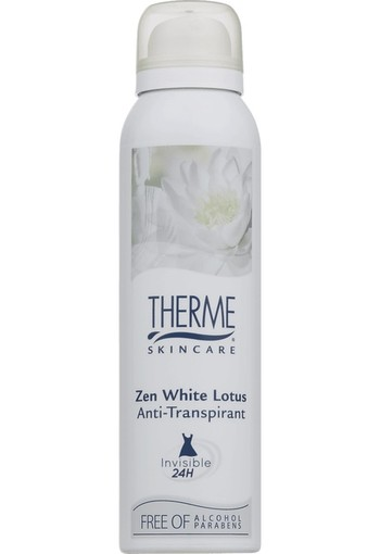 Therme Anti-transpirant deodorant zen white lotus (150 ml)