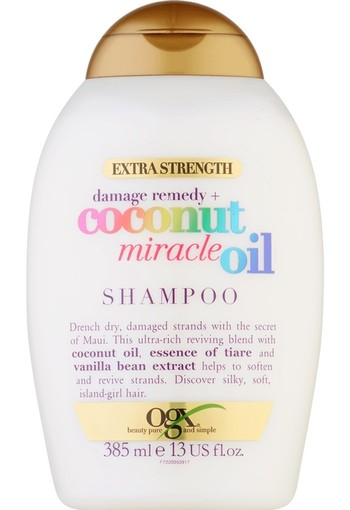 OGX Shampoo Coconut Miracle Oil Extra Strength 385 ml