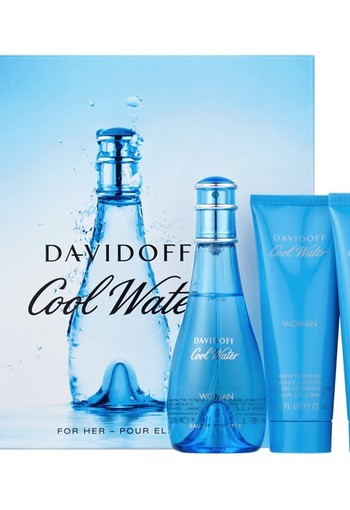 Davidoff Coolwater Her Cadeauset 100 ml