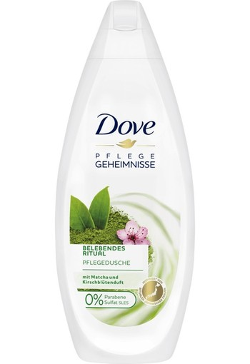 Dove Body wash nourishing matcha green tea & sakura bl 250 ml