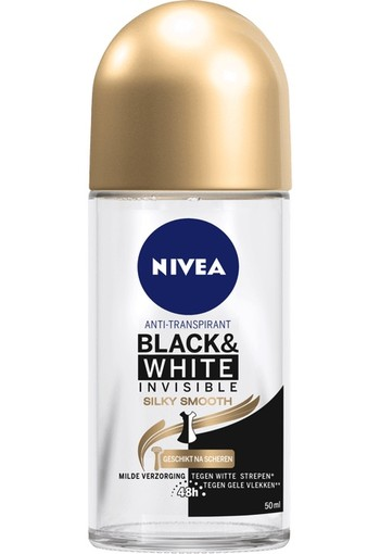 Nivea Deodorant black & white smooth roller (50 ml)