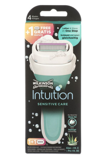 Wilkinson Intuition sensitive care apparaat (1 stuks)