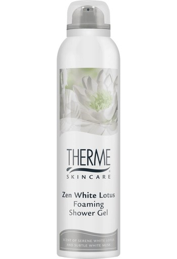 Therme Foam shower zen white lotus 200 ml