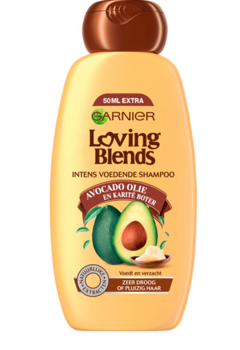 Garnier Loving blends shampoo avocado karite (300 ml)