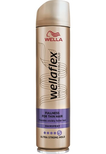 Wella Wellaflex Fullness For Thin Hair Hairspray 250 ml