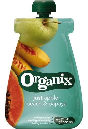 Organix Just Just apple peach papaja 12+ maanden bio (100 gram)