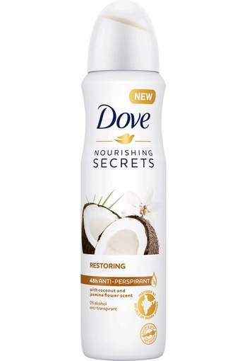 Dove Deodorant spray nourishing secrets restoring (150 ml)