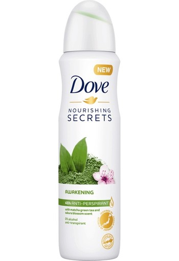 Dove Deodorant spray nourishing secrets awakening (150 ml)