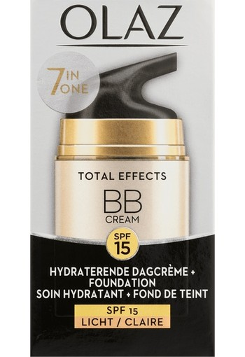 Olaz Total effects BB cream dagcreme lichte tint (50 ml)