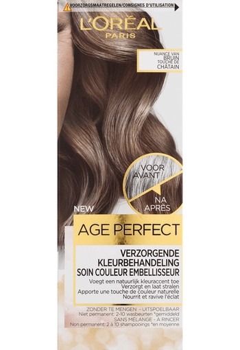 L'Oréal Paris Age Perfect Color Age Perfect Verzorgende Kleurbehandeling - Nuance Van Bruin