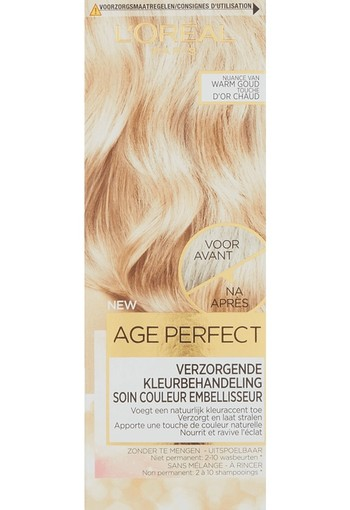 L'Oréal Paris Age Perfect Color Age Perfect Soft Tones Nuance Van Warmgoud