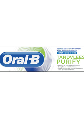 Oral B Tandpasta purify deep clean (75 ml)
