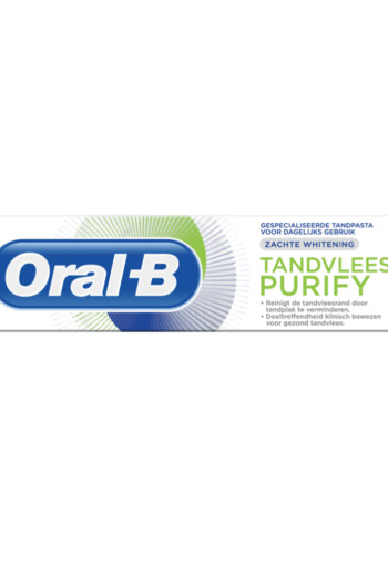Oral B Tandpasta purifying gentle white (75 ml)
