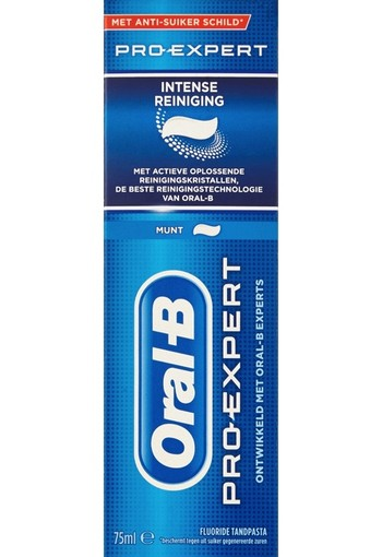 Oral B Tandpasta intense reiniging (75 ml)
