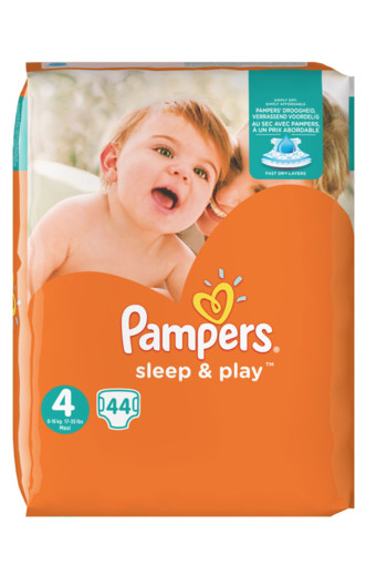 Pampers Sleep & play maxi S4 (44 stuks)