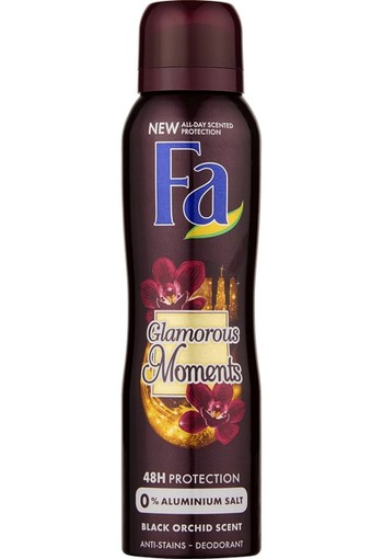 FA Deodorant spray glamorous moments (150 ml)