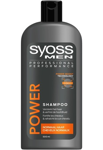 Syoss Men power & strength shampoo (500 ml)