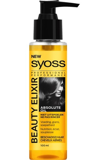 Syoss Beauty elixir absolute oil haarolie (100 ml)