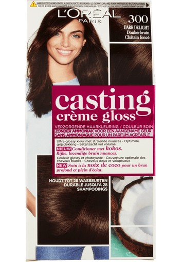 Loreal Casting creme gloss 300 Dark delight (1 set)