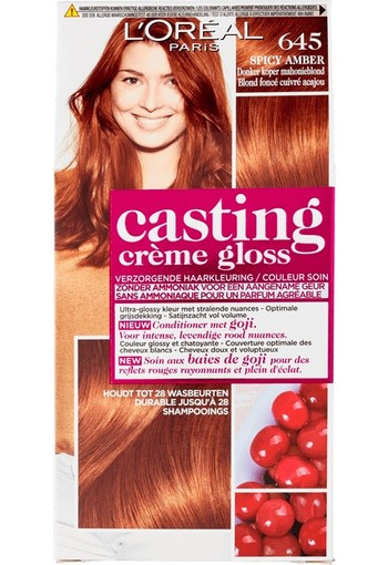 Loreal Casting creme gloss 645 Spicy amber (1 set)