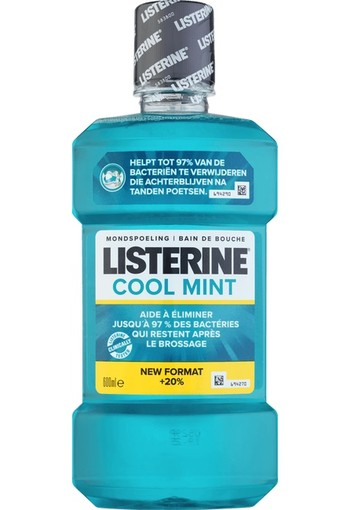 Listerine Mondwater cool mint (600 ml)