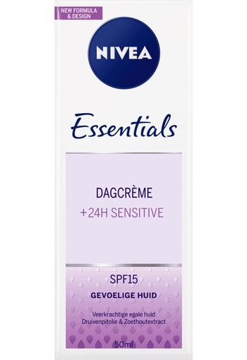 Nivea Essentials dagcreme sensitive SPF15 (50 ml)