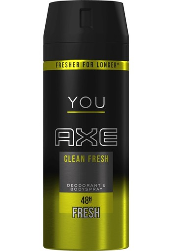 AXE Deodorant spray clean fresh (150 ml)