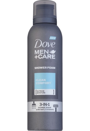 Dove Shower foam mousse clean comfort (200 ml)
