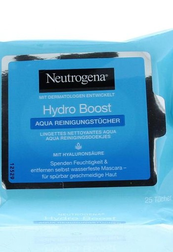 Neutrogena Hydra boost wipes (25 stuks)