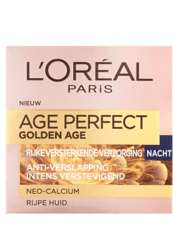 Loreal Age perfect gold age nachtcreme (50 ml)