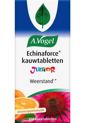 A Vogel Echinaforce junior (200 kauwtabletten)