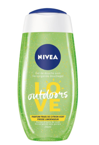 Nivea Douchegel love outdoors lemon & oil (250 ml)