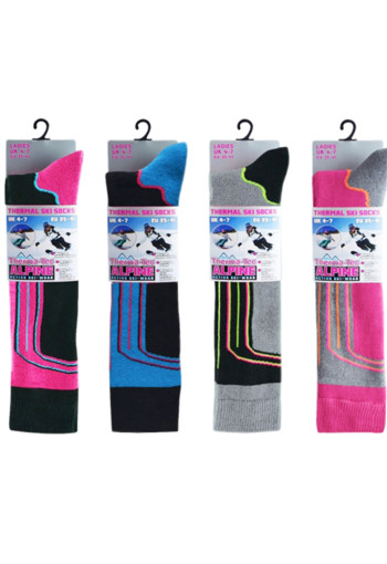 Alpine Ladies ski socks