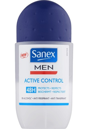 Sanex Men deodorant roller active control (50 ml)