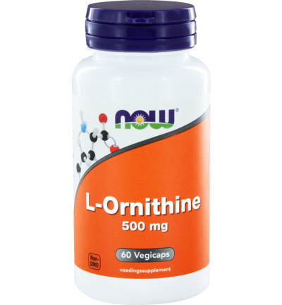 Now L-ornithine 500 Mg 60ca