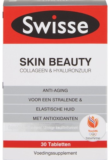 Swisse Skin Beauty Tabletten 30 stuks tablet