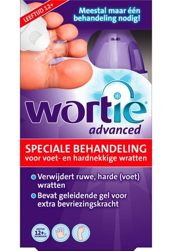 Wortie Wrattenverwijderaar advanced (50 ml)