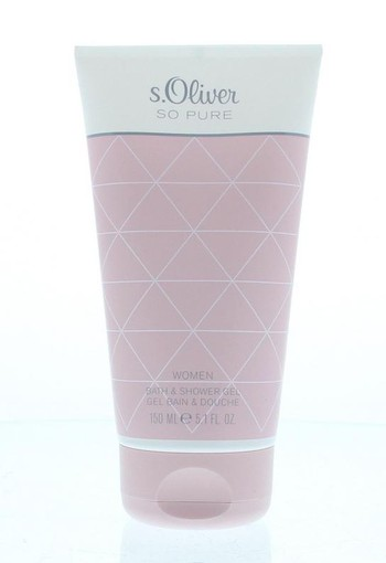 S Oliver So Pure bath & shower gel woman (150 ml)