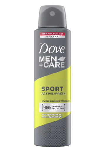 Dove Men+ care deodorant spray sport active + fresh (150 ml)