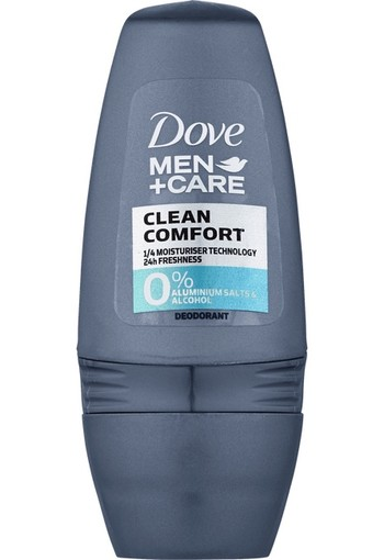Dove Deodorant roll on clean comfort (50 ml)