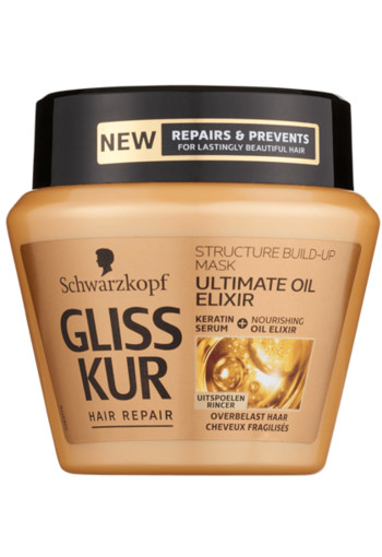 Schwarzkopf Gliss Kur Haarmasker ultimate oil elixir (300 ml)