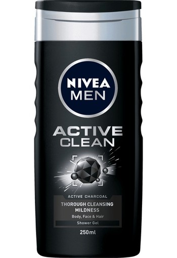 Nivea Men douche active clean (250 ml)
