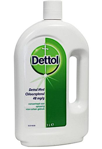Dettol Brown liquid ontsmetting (1 liter)