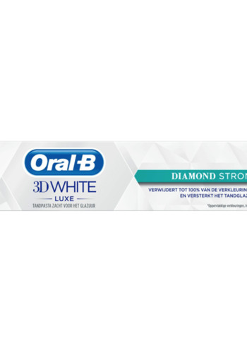 Oral B Tandpasta 3D white luxe diamond strong 75 ml (75 ml)