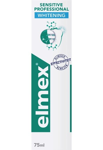 Elmex Tandpasta sensitive professional gentle whitening (75 ml)