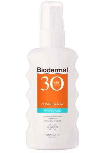 Biodermal Zonnespray hydraplus SPF30 (175 ml)