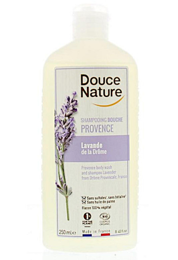 Douce Nature Douchegel & shampoo lavendel provence (250 ml)